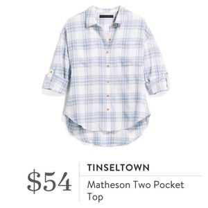 Tinseltown Matheson Two Pocket Top